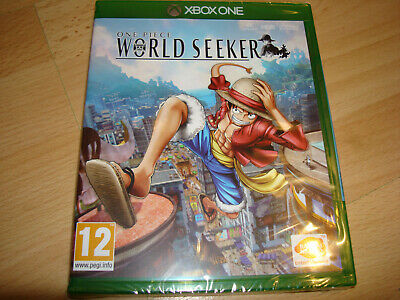 ONE PIECE WORLD SEEKER ** NEW & SEALED ** Microsoft Xbox One Game