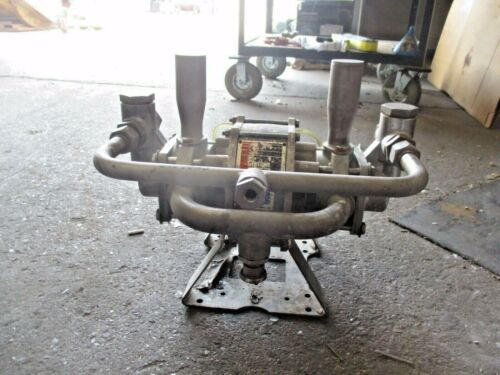"""GRACO 1"""" STAINLESS DIAPHRAGM PUMP, #615902J USED"""