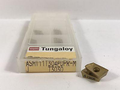 Tungaloy Asmt11t304pdpr-m New Carbide Inserts Grade T3030 8pcs Ab