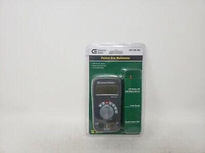 Commercial Electric Digital Multimeter
