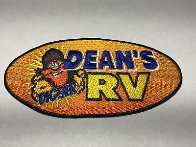 Digger Dean's RV Tulsa Oklahoma OK Camping World Dealer Rental Service Patch L ()