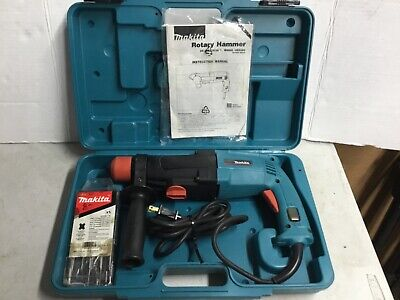 Makita Hr2400 Corded Rotary Hammer Sds Drill In Hard Case New