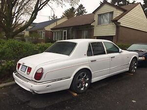 2000 bentley arnage part out or sale need go fast
