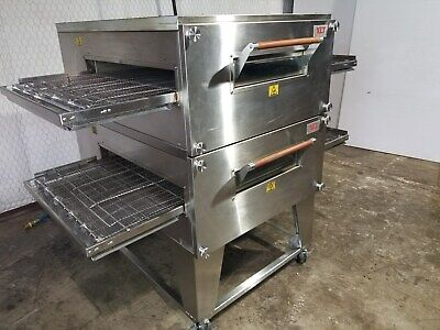 2013 Xlt 3240 Doublestack Electric Pizza Conveyor Ovens ... ...split Belt