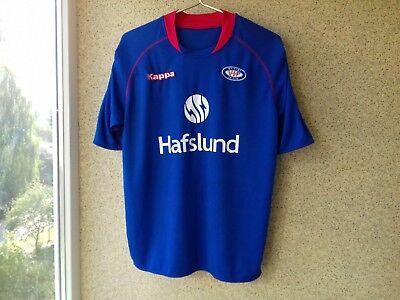 Vålerenga Home football shirt 2009/2010 Jersey Kappa Camiseta SIGNED Norway  image