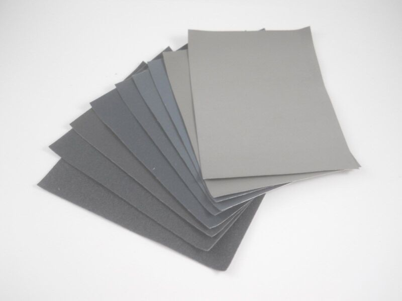 "MICRO-MESH Sanding/Polishing Kit Variety Pack 3""x4"" - 9 Sheets - Made in USA"