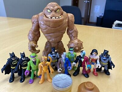Imaginext DC Clayface With Slime And Batman Figures