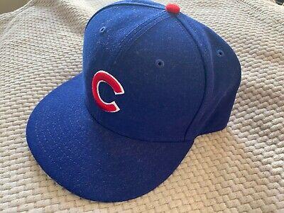 Chicago Cubs Hat Cap New Era 7 5/8
