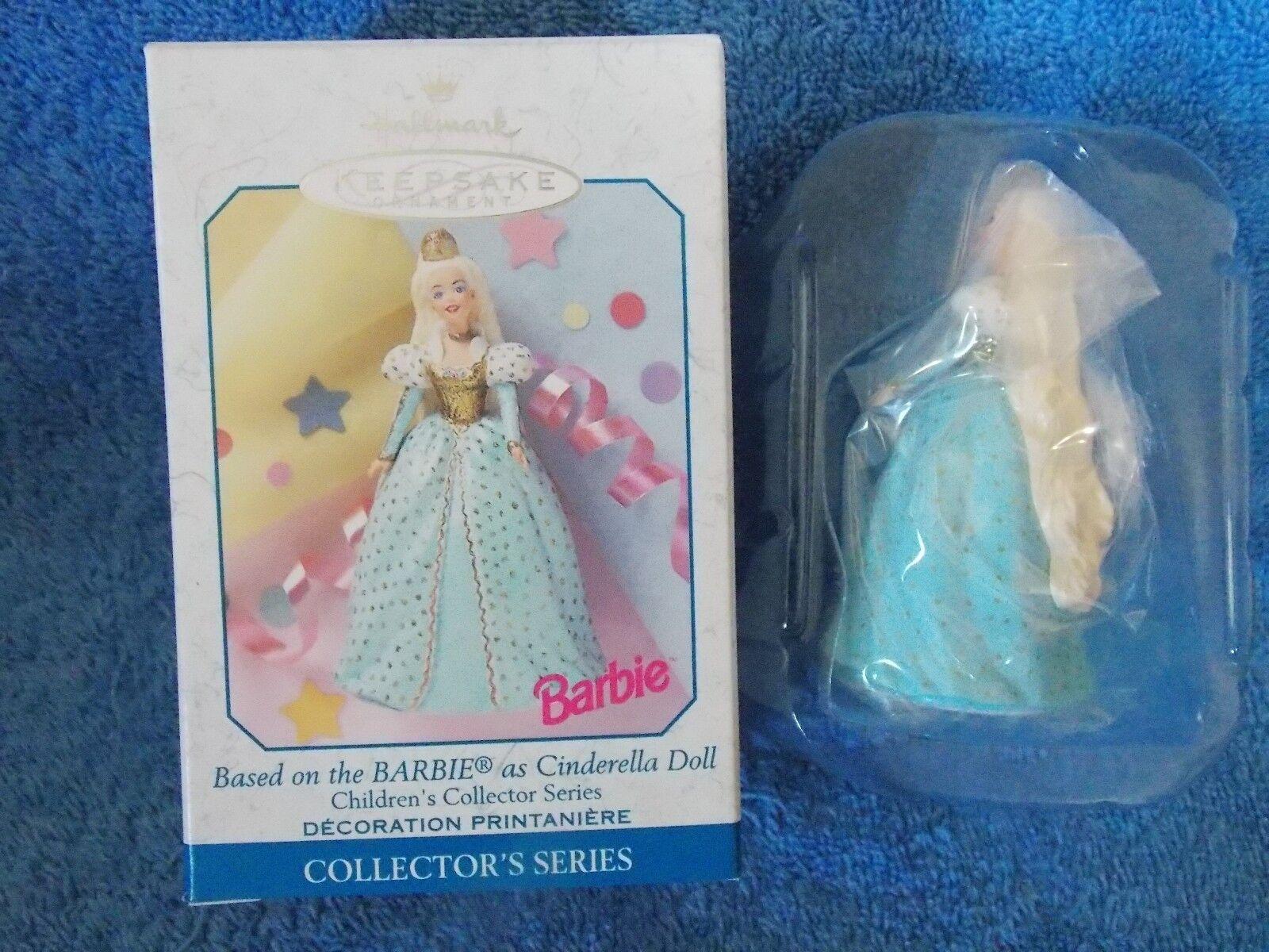 New Hallmark Barbie Doll Cinderella Ornament