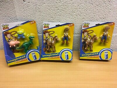 TOY STORY IMAGINEXT 2 OR 5 FIGURES NEW WOODY YOU CHOOSE
