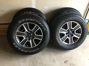 F150 Sport rims and tires