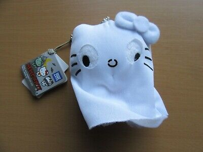 Hello Kitty Halloween Plush (Hello Kitty Ghost Sheet Halloween Plush Doll Toy New w/ Tag 4 inch from)