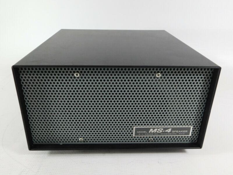 Drake MS-4 Speaker Cabinet for Vintage Ham Radio Equipment (good condition)