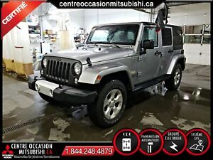 Jeep Wrangler SAHARA UNLIMITED 2014 RABAIS 3400$