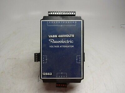 Russelectric Voltage Attenuator With Transformer 9070k100d27