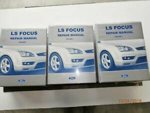 Ford Focus LS Genuine Repair Manual Tarago Goulburn City Preview
