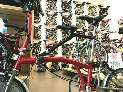 Milian Parts Pere Seat for Brompton (it chair) also fits on Electric Brompton