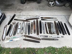 Chainsaw bars