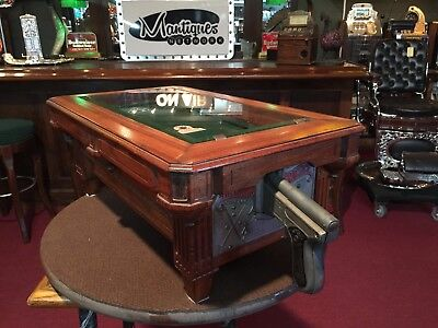 "1928 A.B.T. Pool Table Countertop Arcade Shooting Game  ""Watch Video"""