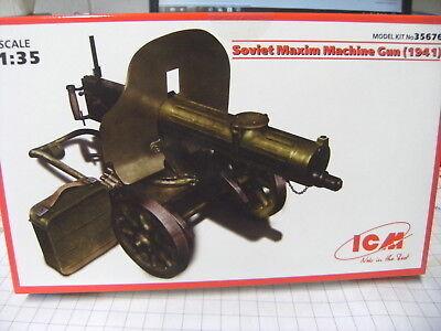 ICM 35676 1:35 Soviet Maxim Machine Gun 1941 NEU OVP