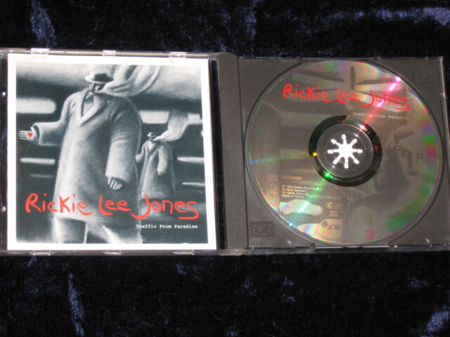 Rickie Lee Jones CD Traffic From Paradise / MADE IN FRANCE GED24602   EX/EX