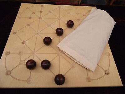 Holz Brettspiel Fechar leichtes Geschicklichkeitsspiel für die ganze Familie ()