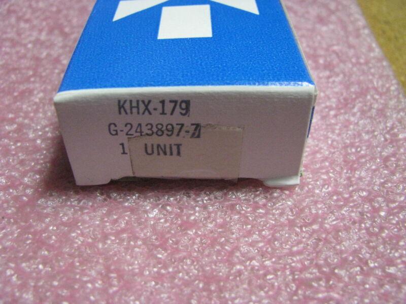 ALLIED CONTROLS / GOULD RELAY # KHX-179 NSN: 5945-00-682-9170 # G-243897-7
