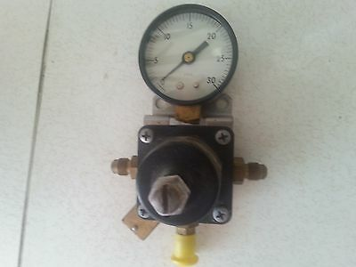 Cornelius Ashcroft 857-a S-100 Compressed Gas Regulator Pressure Gauge