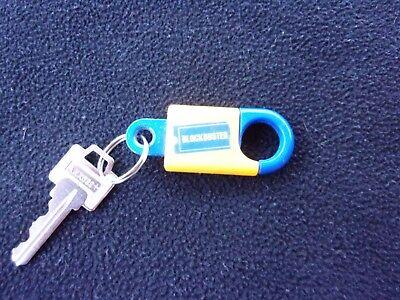 Plastic Keychains (Vintage Blockbuster video plastic key chain, nice pre)