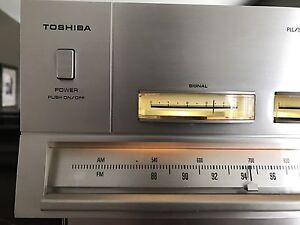 Serviced: 1977 Toshiba 18.3 Lbs Stereo Am/Fm Dedicated Tuner