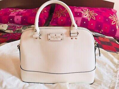 Kate Spade Sylvia large cream handbag