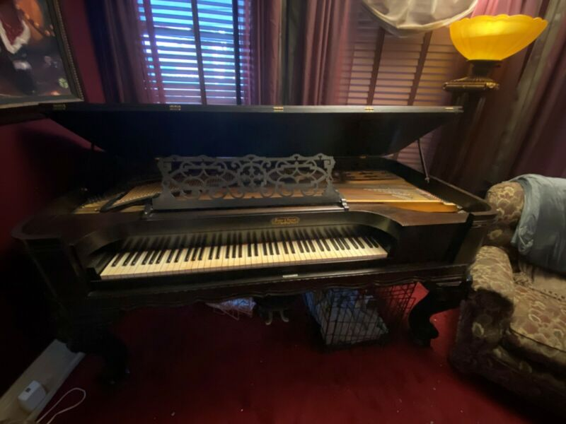 1873 Parlor Grand Piano Vose & Sons