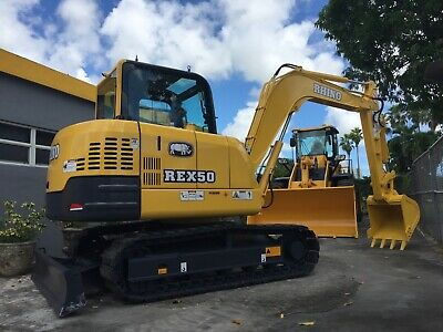 2021 Rhino Rex50 Excavator Powered By Yanmar - Export Only