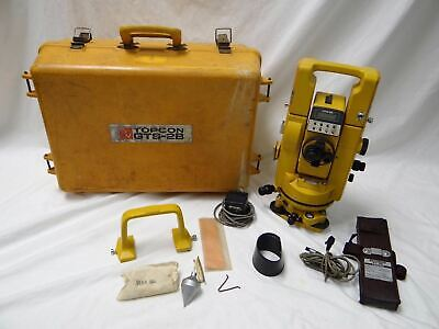Topcon Gts - 2b Total System Surveying Equipment Construction Tool With Case