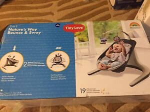 Tiny love natures way bounce and sway seat brand new