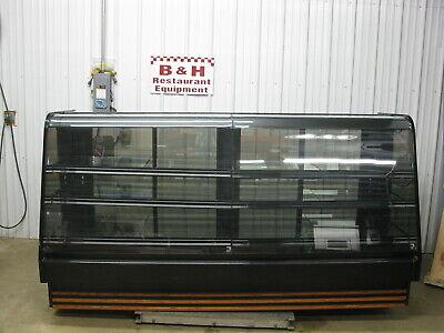 Barker 8 2 Remote Curved Glass Bakery Display Case Merchandiser