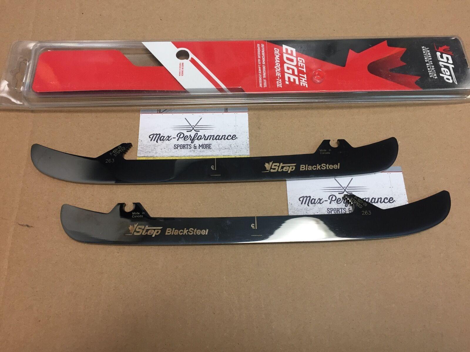 Step Steel Blacksteel Bauer Lightspeed Skate Runners! Blades