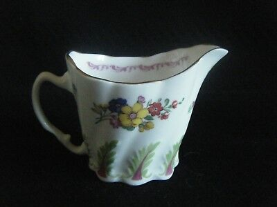 ROYAL WORCESTER DR WALL SPRAYS SMALL JUG 250th ANNIVERSARY 1751-2001 DATED 2000