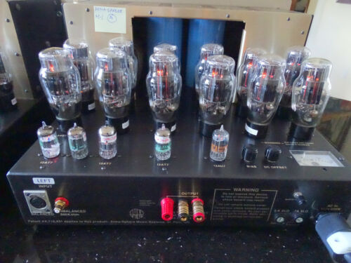 Atma-Sphere MA-1 The world's best tube amplifier?  2 x 100 watts OTL