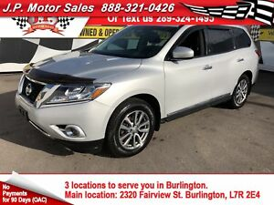2013 Nissan Pathfinder SV, Leather, Sunroof, 3rd Row Seating, 4*