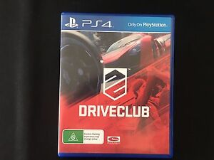 Drive club for PS4 Boondall Brisbane North East Preview