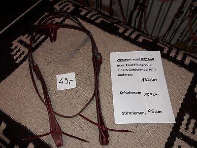Westerntrense Westernzaum Kopfstück Kaltblut Kaltblüter KB XXL Arbeitszaum Lati