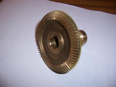 Bevel Bronze Gear W Seal For Servo Power Feeds On Bridgeport Mills New
