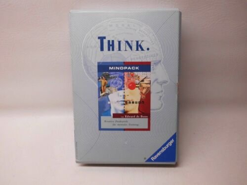 RAVENSBURGER - THINK MINDPACK - KREATIVE DENKSPIELE FÜR MENTALES TRAINING