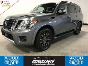 2017 Nissan Armada Platinum ACCIDENT FREE, LOADED WITH REAR DVDs