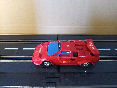 Usado, BRAND NEW ARTIN - RED LAMBORGHINI COUNTACH - 1/43 SLOT CAR Scalextric segunda mano  Embacar hacia Spain