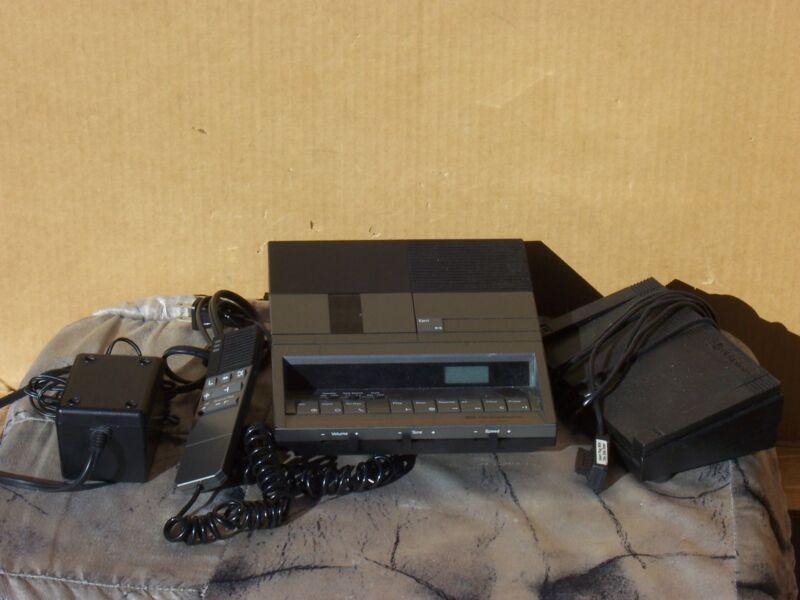 Dictaphone 3710 Micro Cassette Desktop Dictator - Voice Processor Dictation Tran