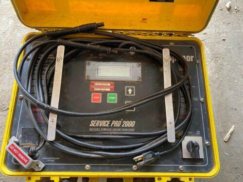 EF Technologies Uponor Service Pro 2000 Plastic Welder Electrofusion Processor
