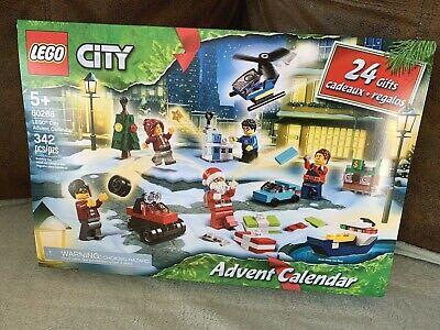 New LEGO SET CITY 60268 Christmas Toy Age 5+ 342 Pieces ADVENT CALENDAR Santa