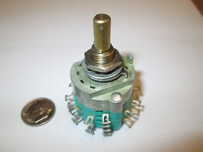Electroswitchstackpole  2 Pole - 12 Position Enclosed Rotary Switch  Nos